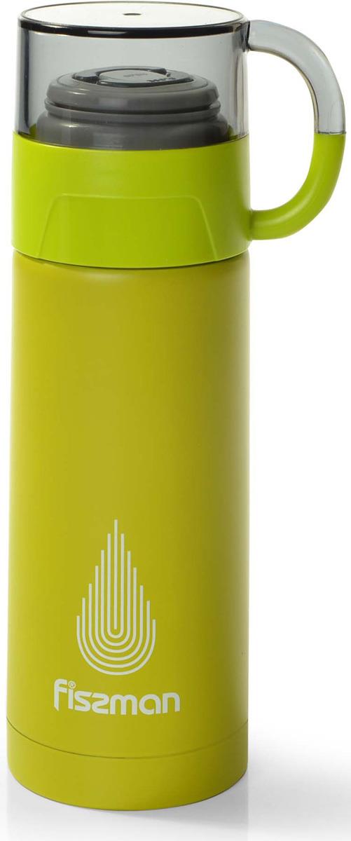 Термос Fissman, 9652, зеленый, 350 мл