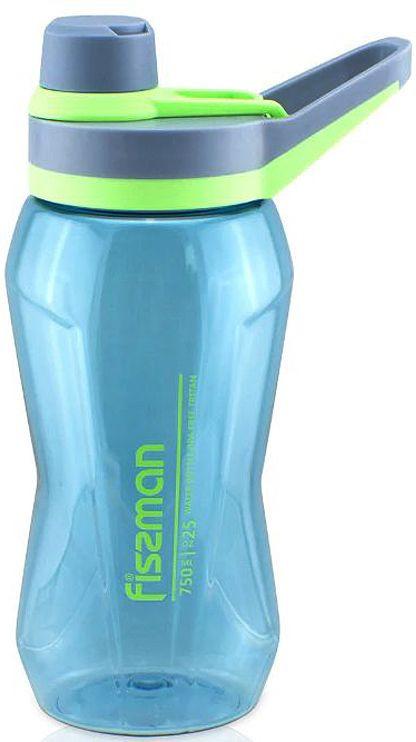 Бутылка для воды Fissman, 6918, голубой, 750 мл бутылка для воды contigo autospout chug голубой 720 мл
