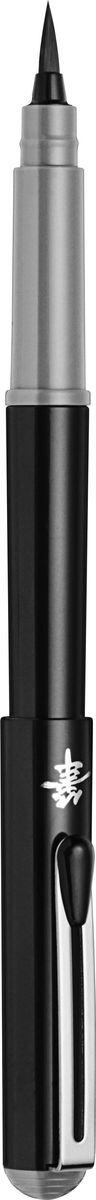 Ручка Pentel Brush Pen, GFKP3-N, черный pentel маркер кисть для каллиграфии brush sing pen medium черная
