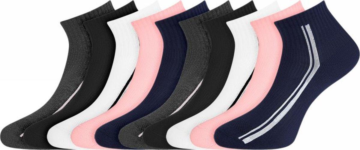 Комплект носков oodji комплект из 5 пар однотонных коротких носков