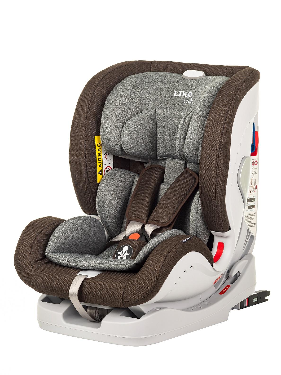 Автокресло LIKO BABY SPRINTER детское автокресло liko baby lb303c beige brown