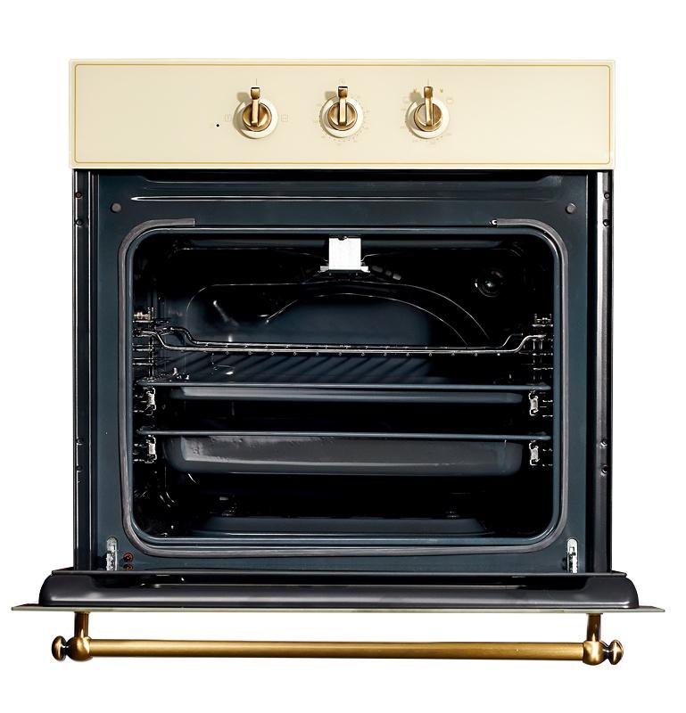 лучшая цена Духовой шкаф Kuppersberg SGG 663 C BRONZE, бежевый, бронза