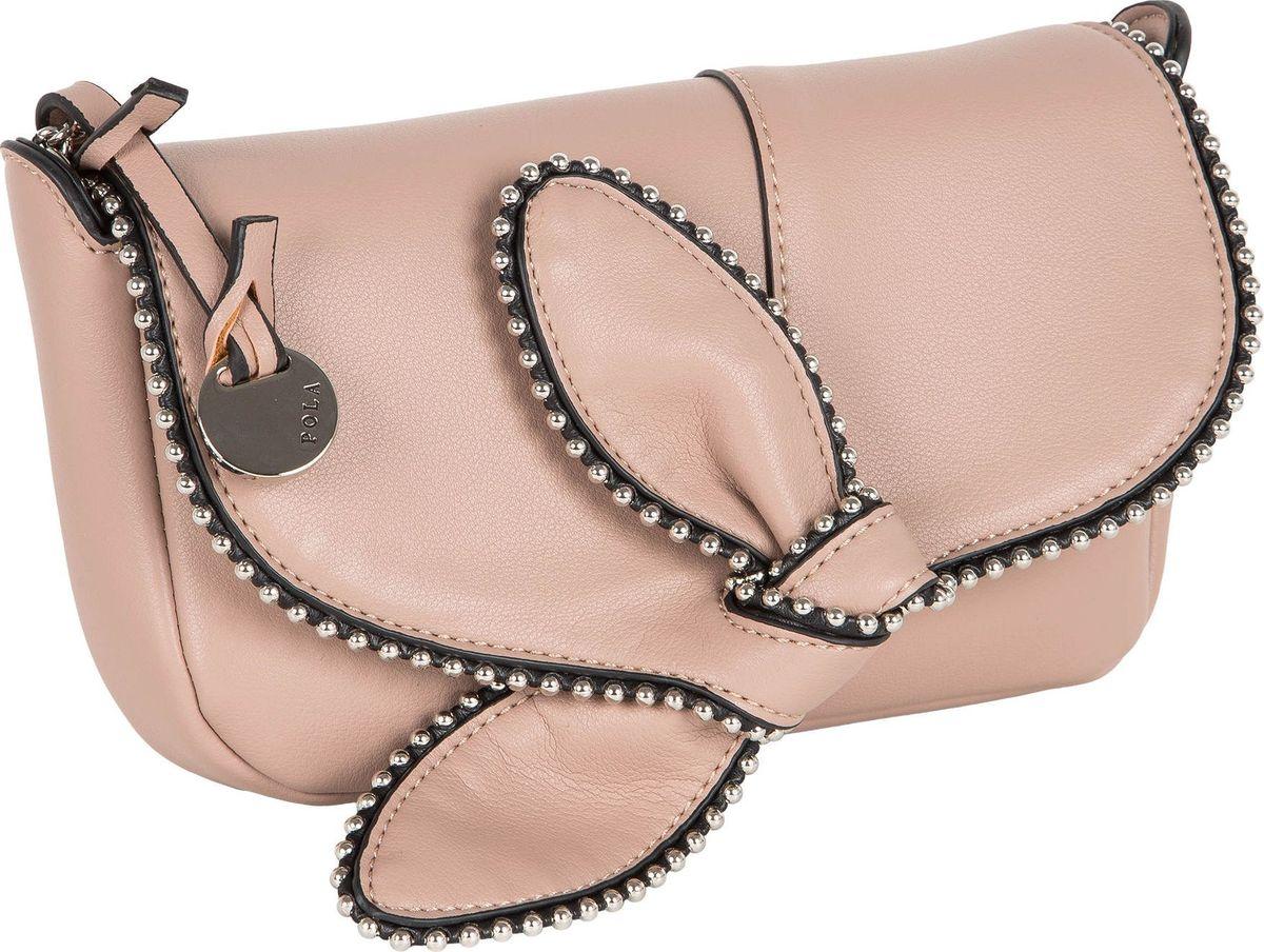 Клатч Pola prada розовый клатч на цепочке
