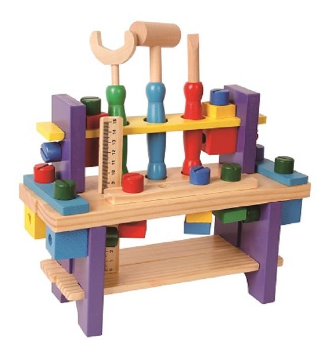 Деревянный конструктор Развивающие игрушки из дерева Верстак цена