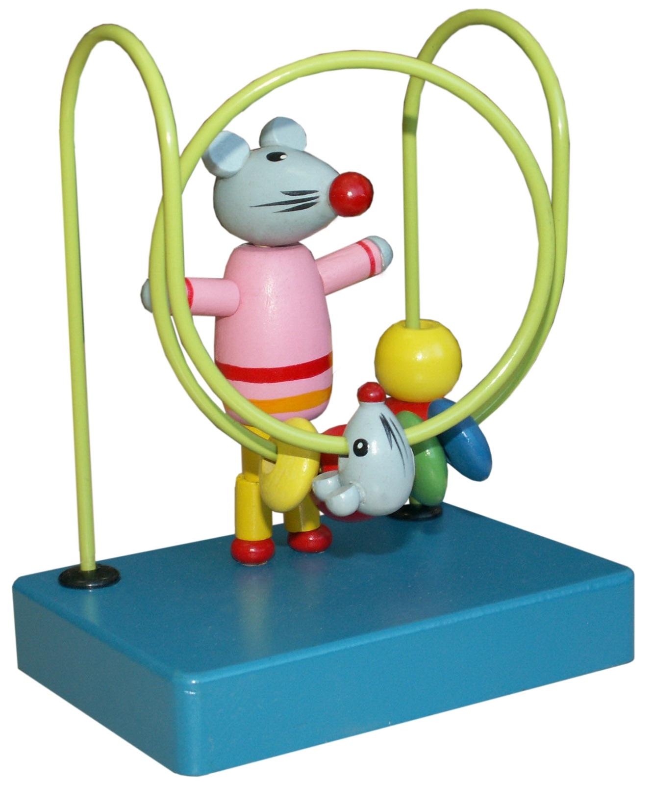 """Лабиринт Развивающие игрушки из дерева """"Мышка"""""""