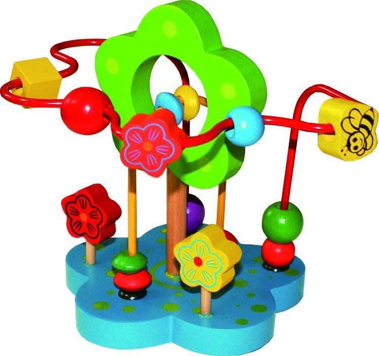 """Лабиринт Развивающие игрушки из дерева """"Цветочек"""""""