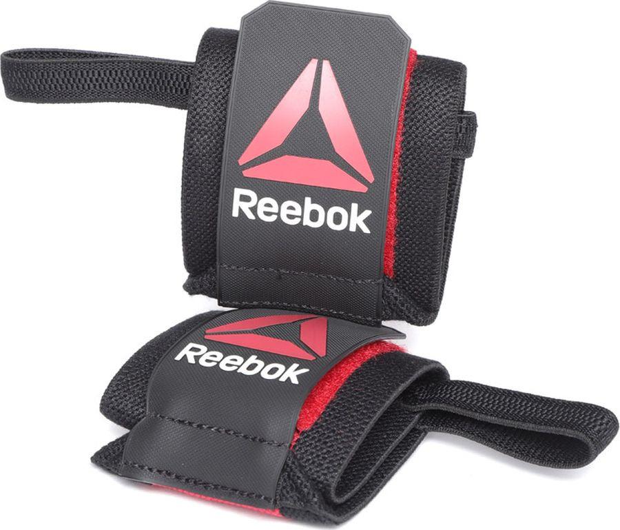 Перчатки для фитнеса Reebok R4CF W-WRAP, CV9854, черный, размер M куртка мужская reebok od dwnlk jckt цвет черный d78631 размер m 50
