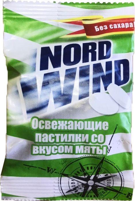 Освежающие пастилки Nord Wind, со вкусом мяты, 25 г горпилс лимон 12 пастилки