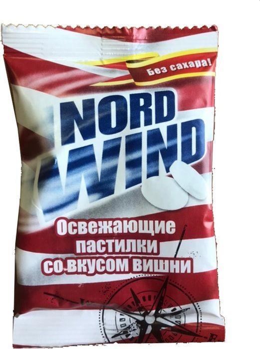 Освежающие пастилки Nord Wind, со вкусом вишни, 25 г горпилс лимон 12 пастилки