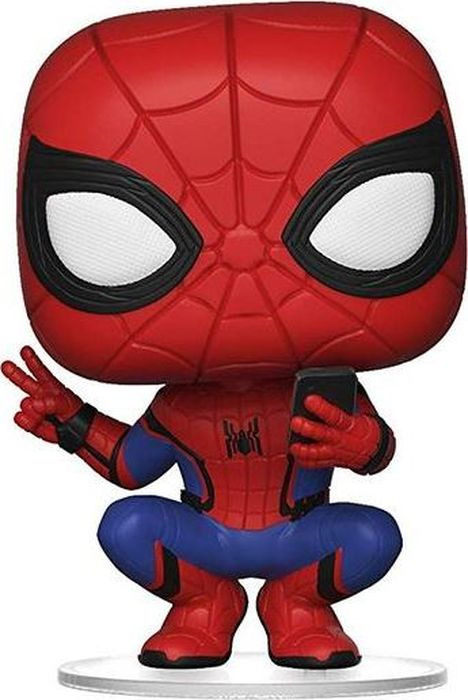 Фигурка Funko POP! Bobble: Marvel: Spider-Man: Far From Home: Spider-Man (Hero Suit) 39403 цена 2017
