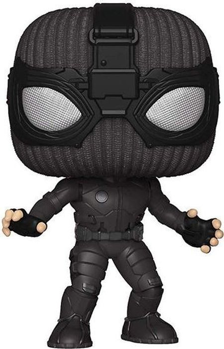 Фигурка Funko POP! Bobble: Marvel: Spider-Man: Far From Home: Spider-Man (Stealth Suit) 39208 amazing spider man epic collection