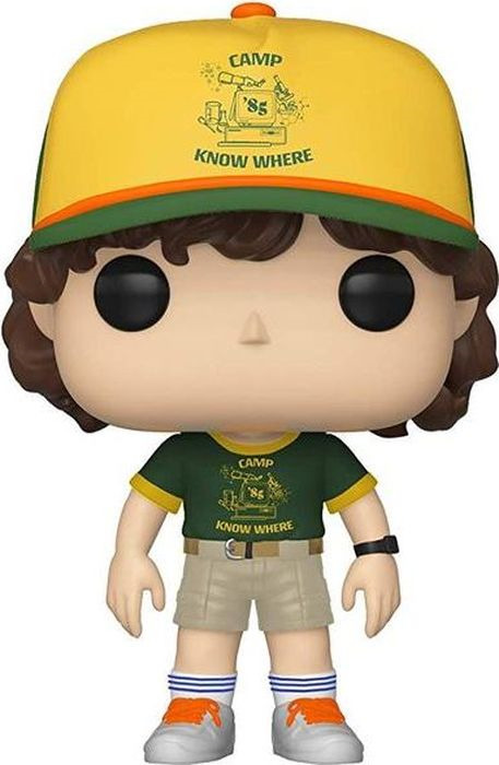 Фигурка Funko POP! Vinyl: Stranger Things: Dustin (At Camp) 38532 фигурка funko pop vinyl stranger things mike at dance 35055