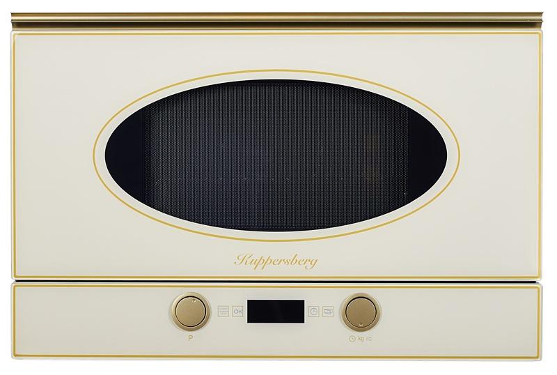 Фото - Микроволновая печь Kuppersberg RMW 393 C BRONZE, бежевый встраиваемая микроволновая печь kuppersberg rmw 969 c