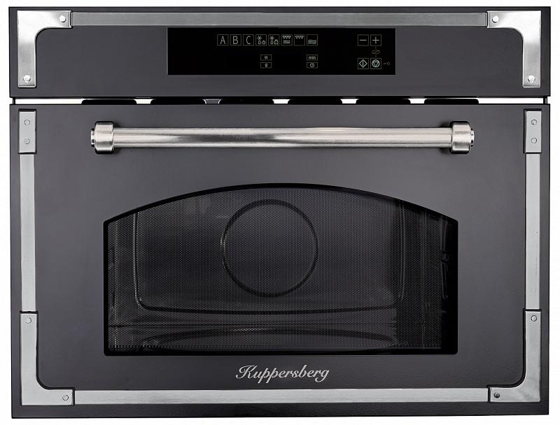 Фото - Микроволновая печь Kuppersberg RMW 969 ANX, черно-серый встраиваемая микроволновая печь kuppersberg rmw 969 c