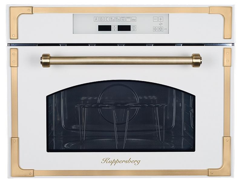 Фото - Микроволновая печь Kuppersberg RMW 969 C, бежевый, бронза встраиваемая микроволновая печь kuppersberg rmw 969 c