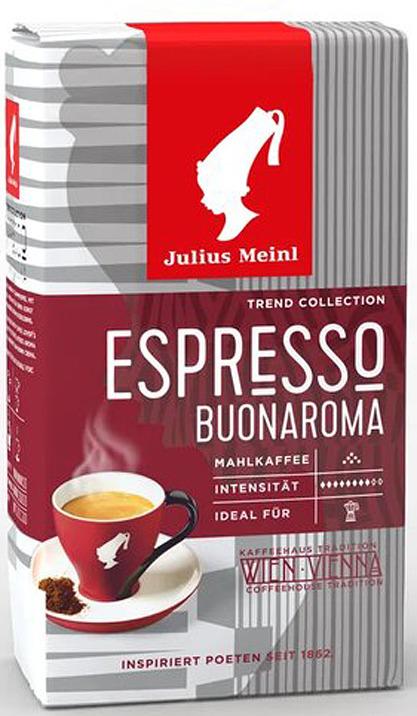 цены на Julius Meinl Венский завтрак Ароматный кофе молотый, 250 г  в интернет-магазинах