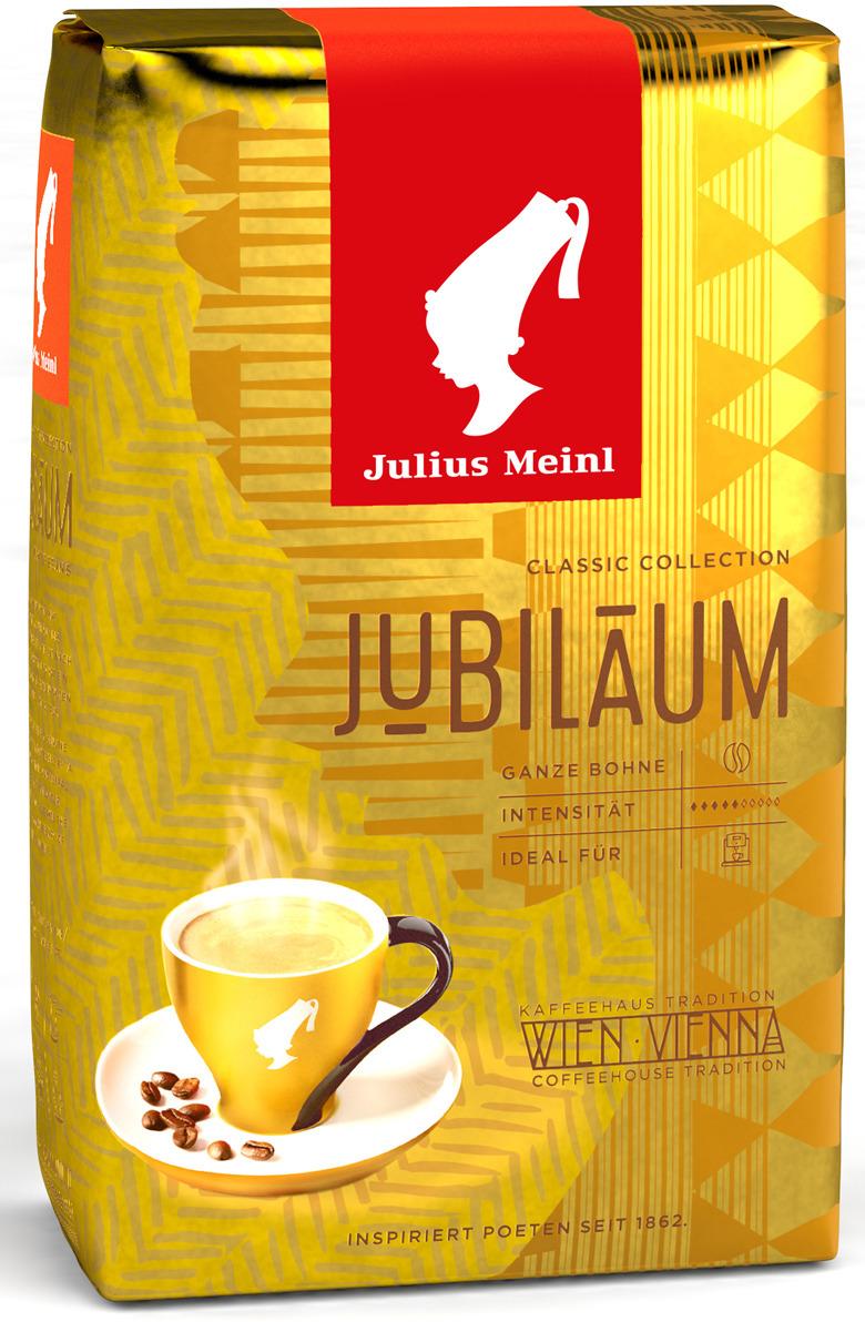 Julius Meinl Юбилейный кофе в зернах, 500 г цена и фото