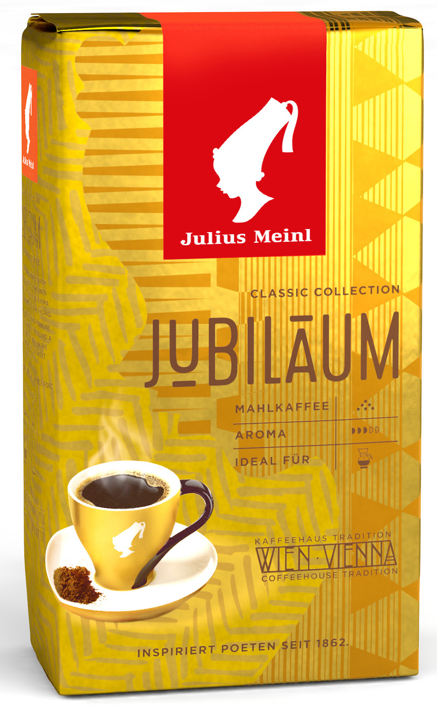 Julius Meinl Юбилейный кофе молотый, 250 г цена и фото