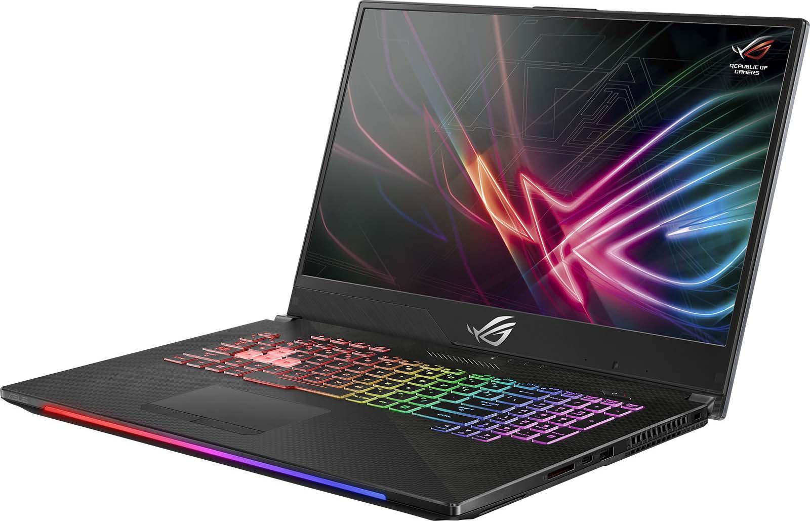 Игровой ноутбук ASUS ROG GL504GV 90NR01X1-M02750, черный ноутбук asus fx705gd ew117t core i5 8300h 6gb 1tb 128gb ssd nv gtx1050 2gb 17 3 fullhd win10 black