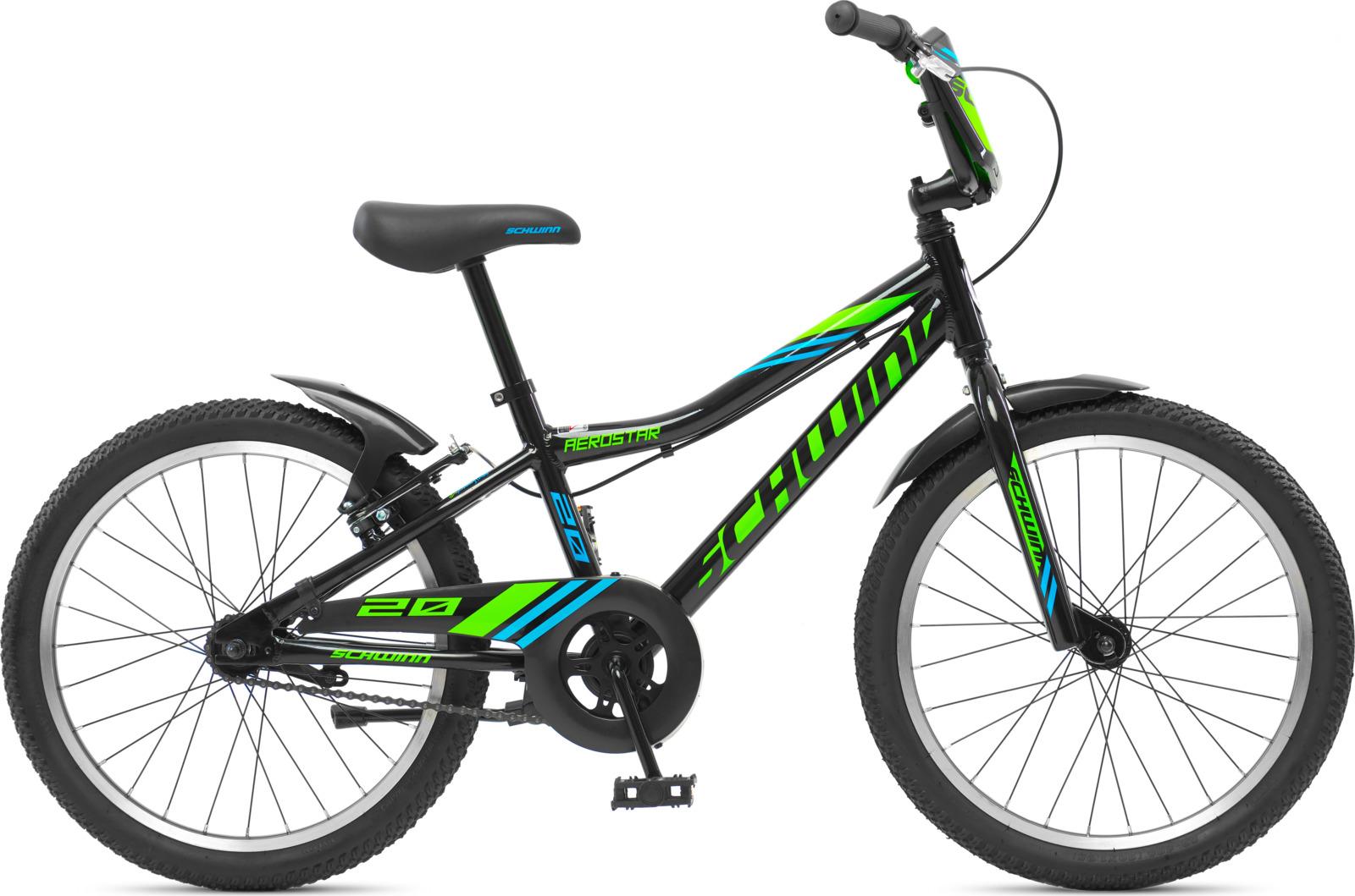 Велосипед детский Schwinn Aerostar, колесо 20, черный велосипед schwinn twister 2017