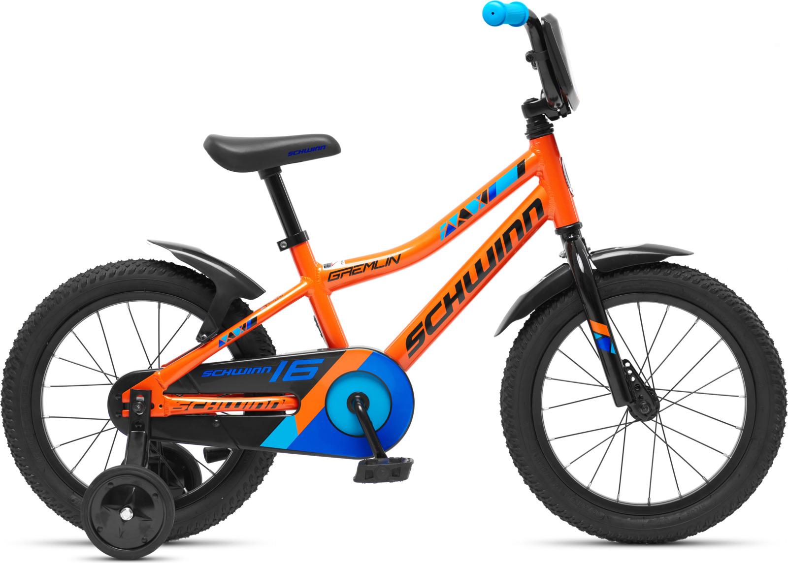 Велосипед детский Schwinn Gremlin, колесо 16, оранжевый велосипед schwinn twister 2017