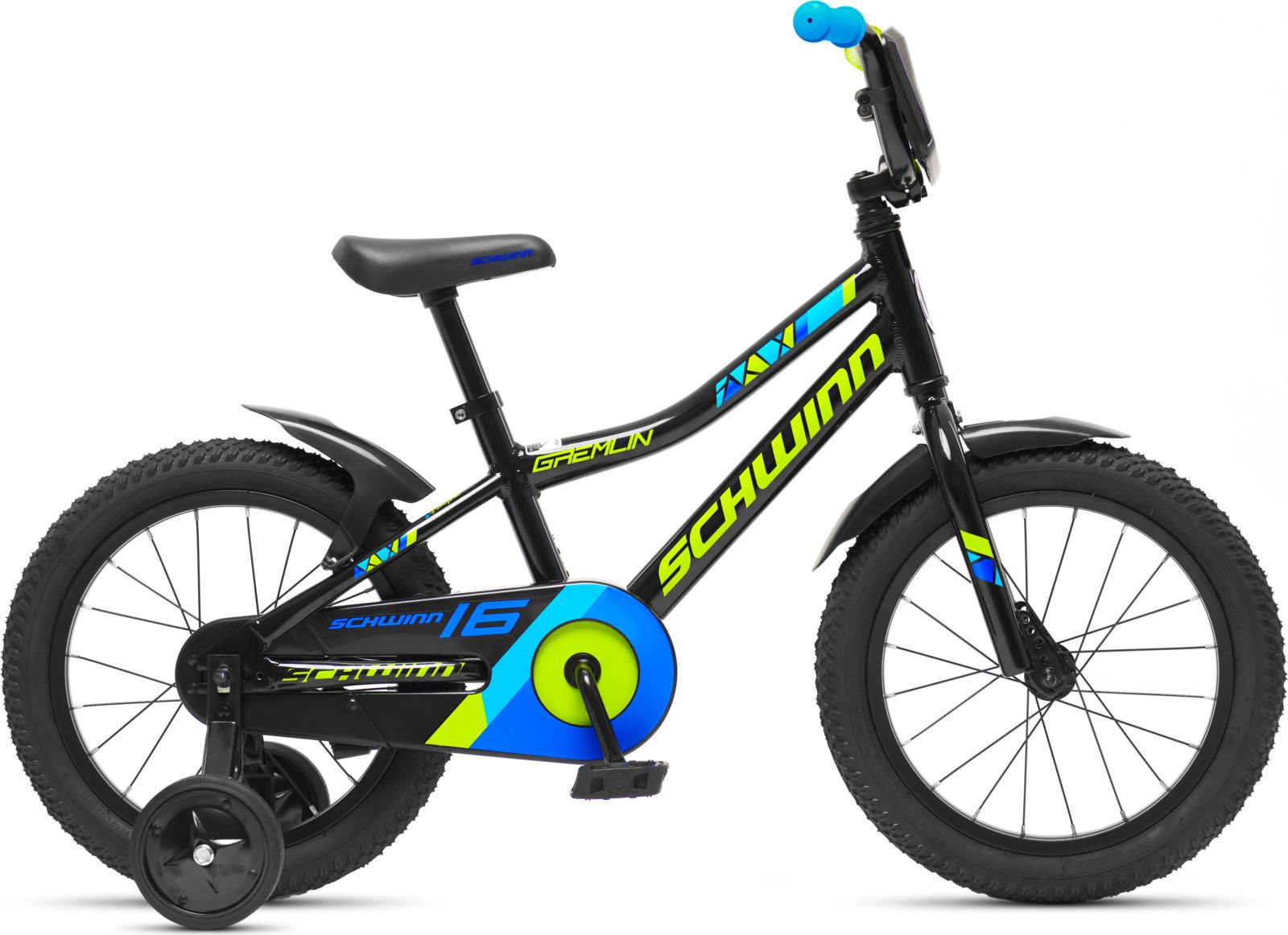 Велосипед детский Schwinn Gremlin, колесо 16, черный велосипед schwinn meridian 2018