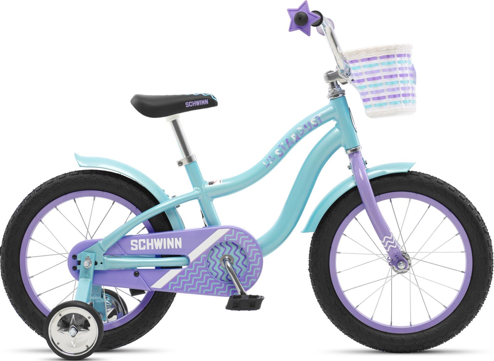Велосипед детский Schwinn Lil Stardust, колесо 16, голубой цена