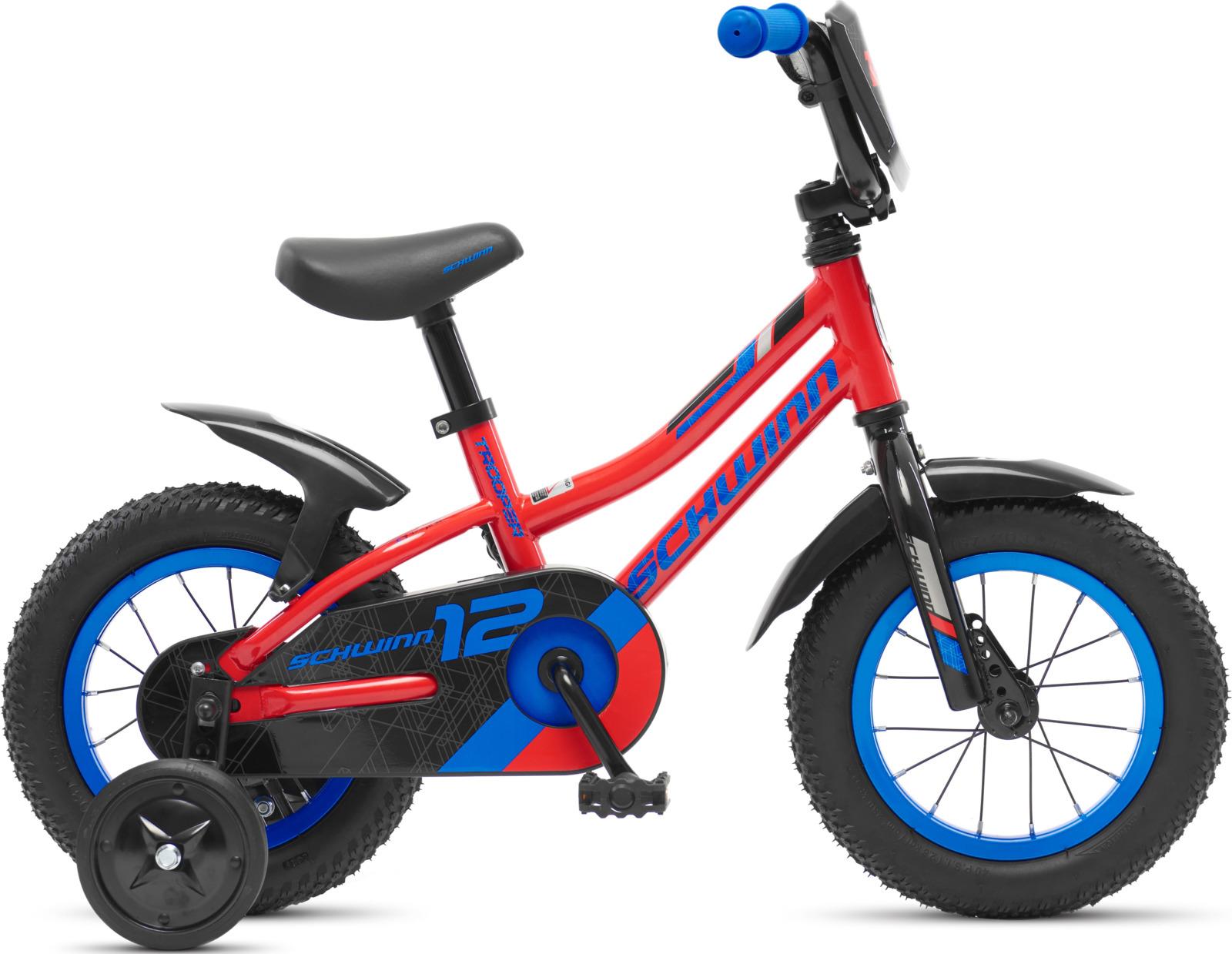 Велосипед детский Schwinn Trooper, колесо 12, красный велосипед schwinn twister 2017