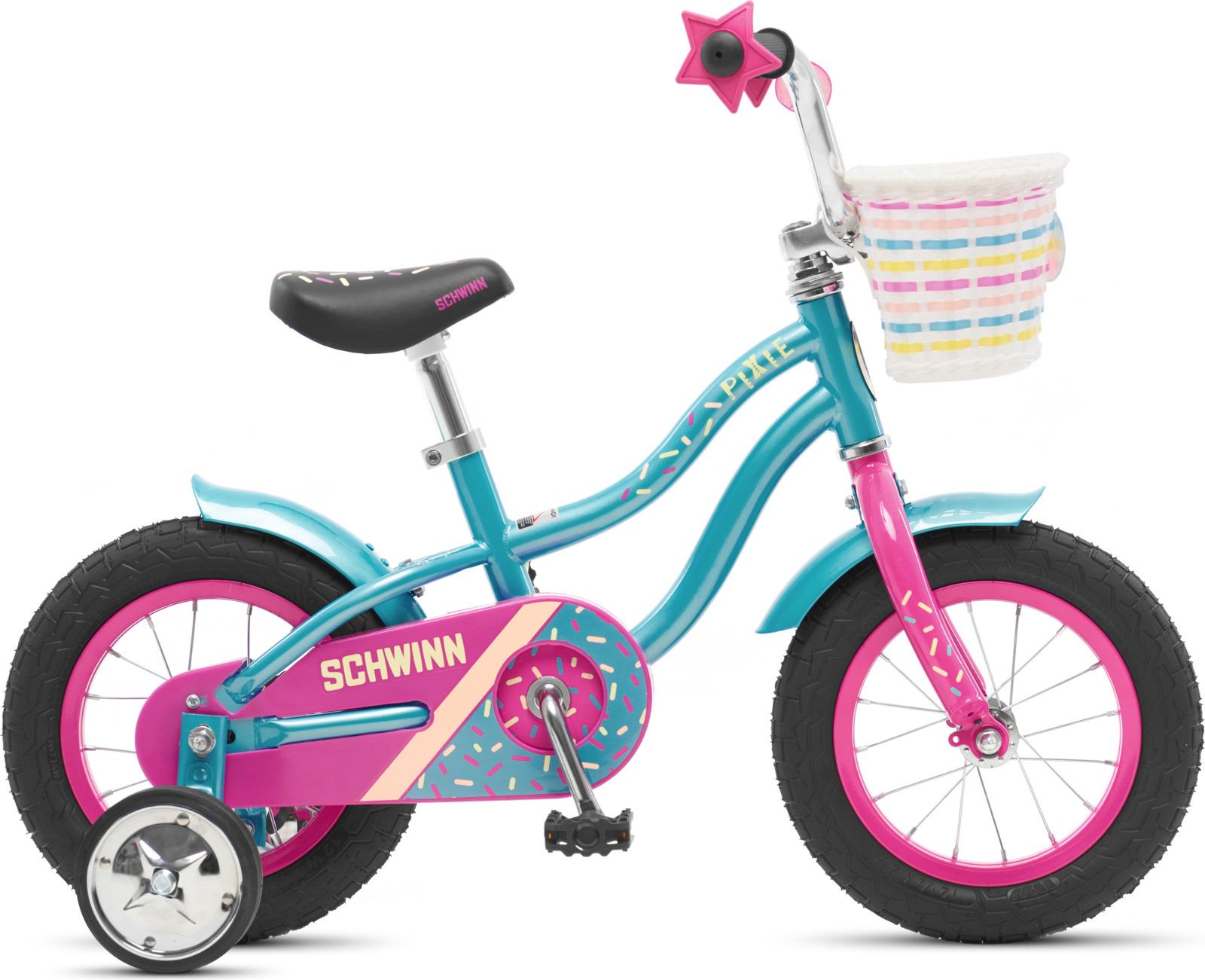 Велосипед детский Schwinn Pixie, колесо 12, голубой