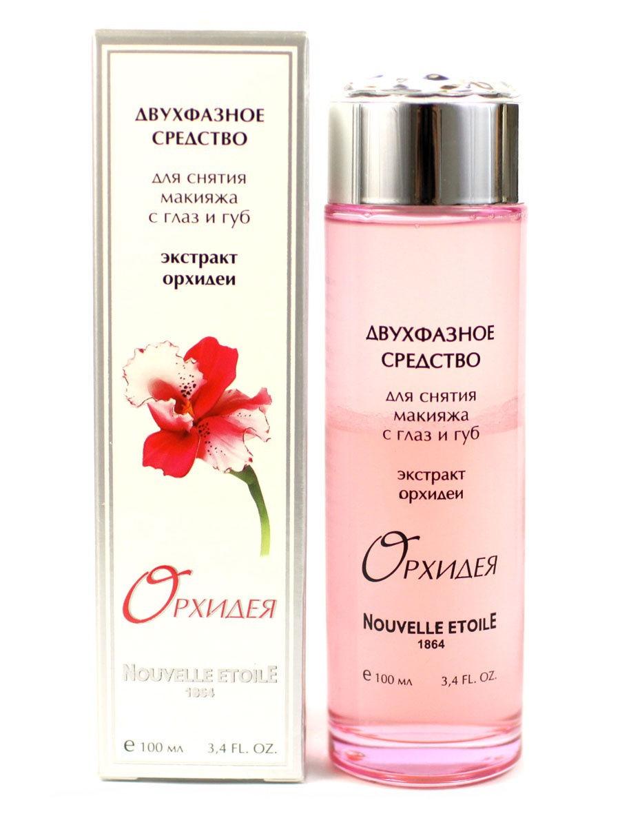 Средство для снятия макияжа Новая заря Орхидея 100 мл