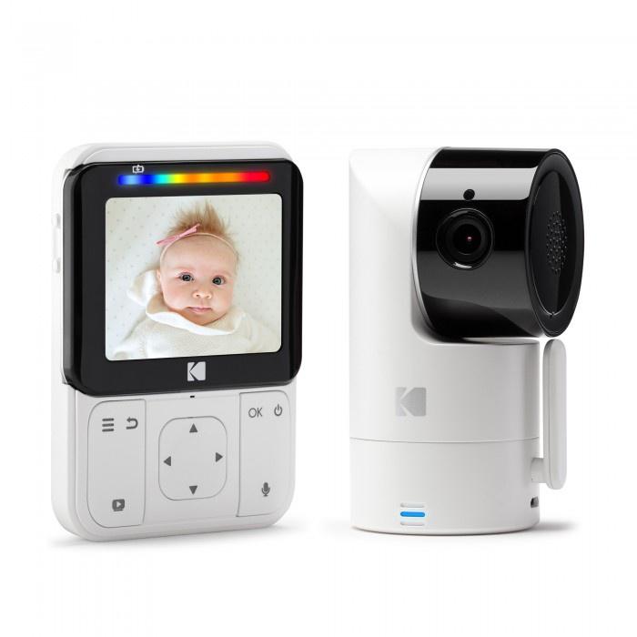 Видеоняня Kodak CHERISH C225, Wi-Fi, поворотная камера, диагональ дисплея 2.8 дюйма
