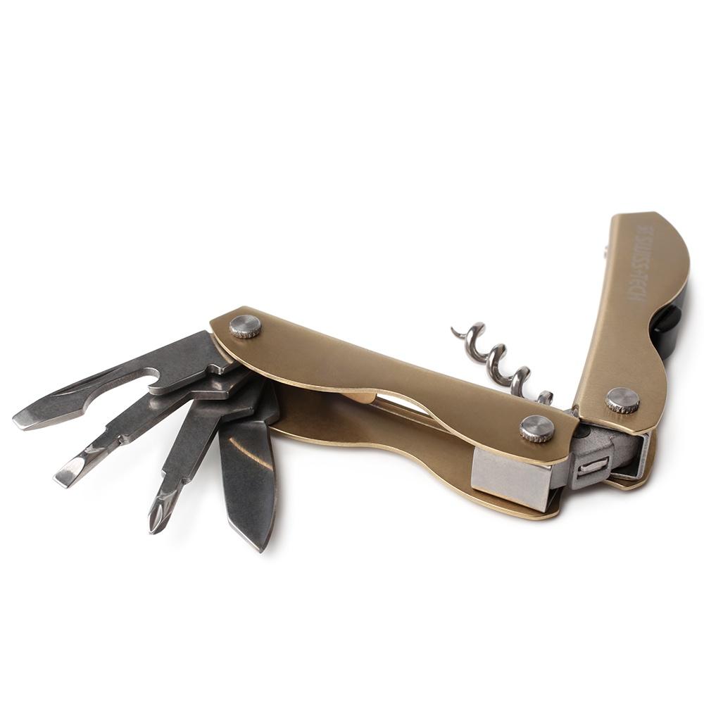 Мультиинструмент Corkscrew ST33312 swiss tech micro plus ex
