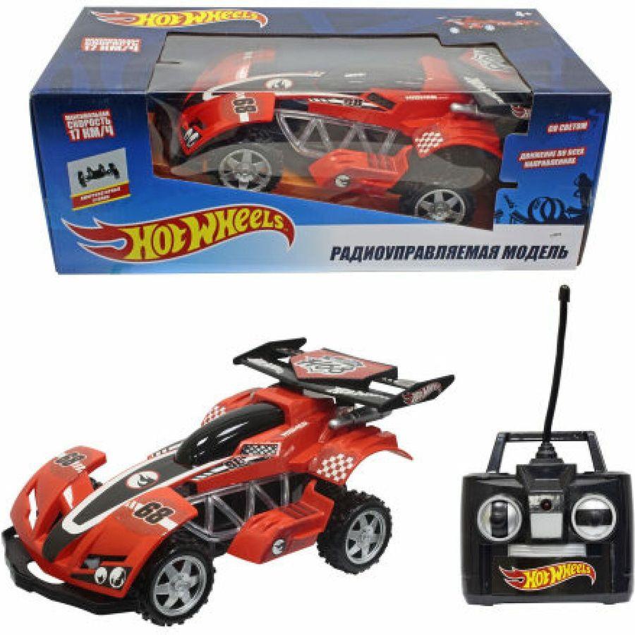 все цены на Машина радиоуправляемая 1TOY Hot Wheels Багги, Т10985, красный онлайн