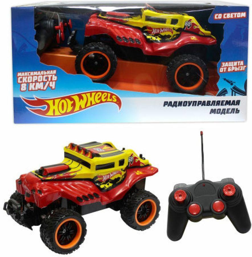 Машина радиоуправляемая 1TOY Hot Wheels Багги Бигвил, Т10986, красный багги на радиоуправлении hot wheels красная