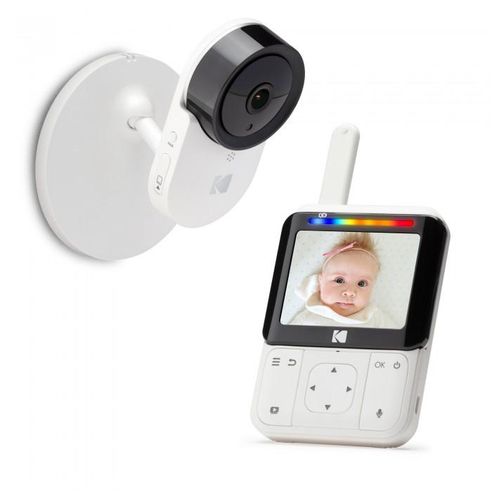 Видеоняня Kodak CHERISH C220, Wi-Fi, диагональ дисплея 2.8 дюйма