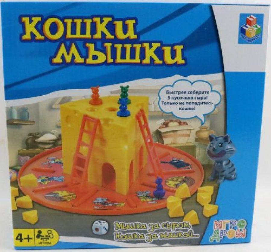 Настольная игра 1TOY Игродром Кошки-Мышки, Т13555 все цены