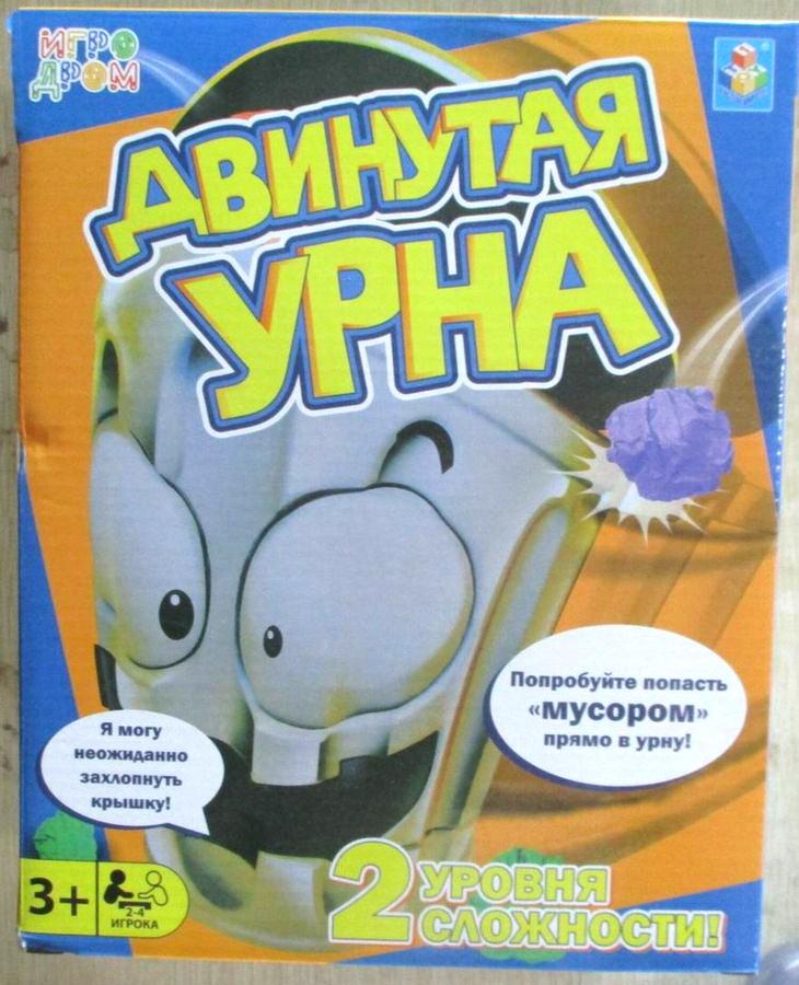 Настольная игра 1TOY Игродром Двинутая урна, Т13560