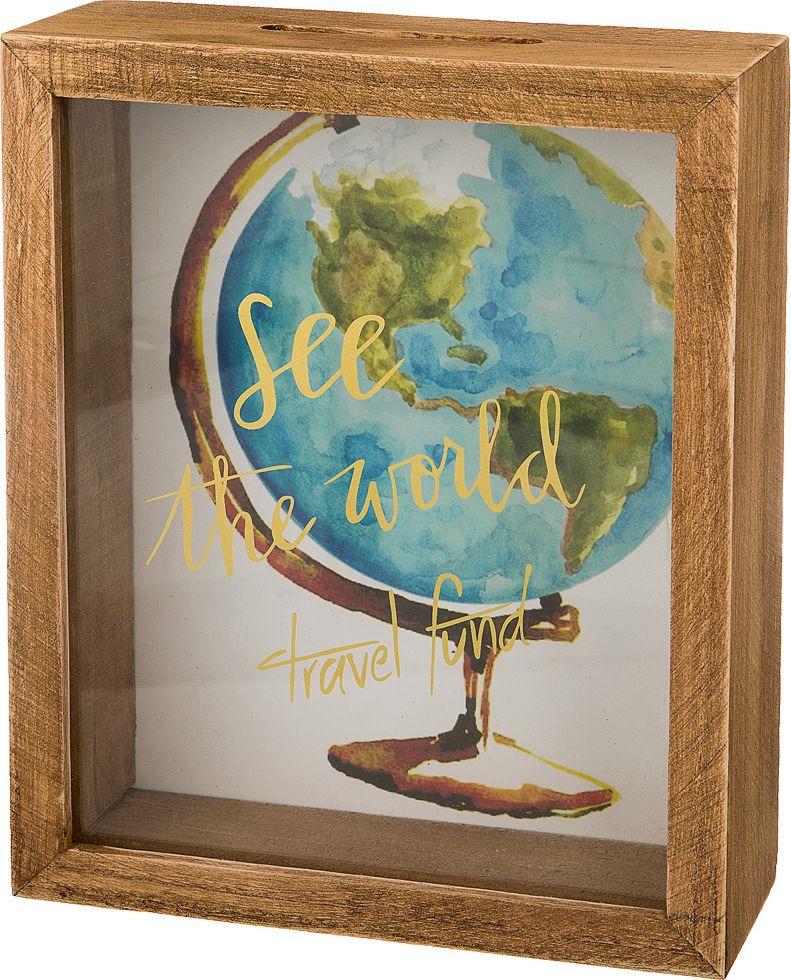 Копилка Lefard Фонд кругосветного путешествия, 124-104, 18 x 22 x 7 см копилка made in china 1 x muti