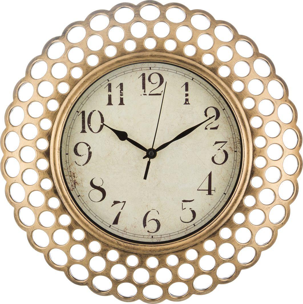 цена Настенные часы Lefard Italian Style, 220-130, 39 х 39 х 5 см онлайн в 2017 году