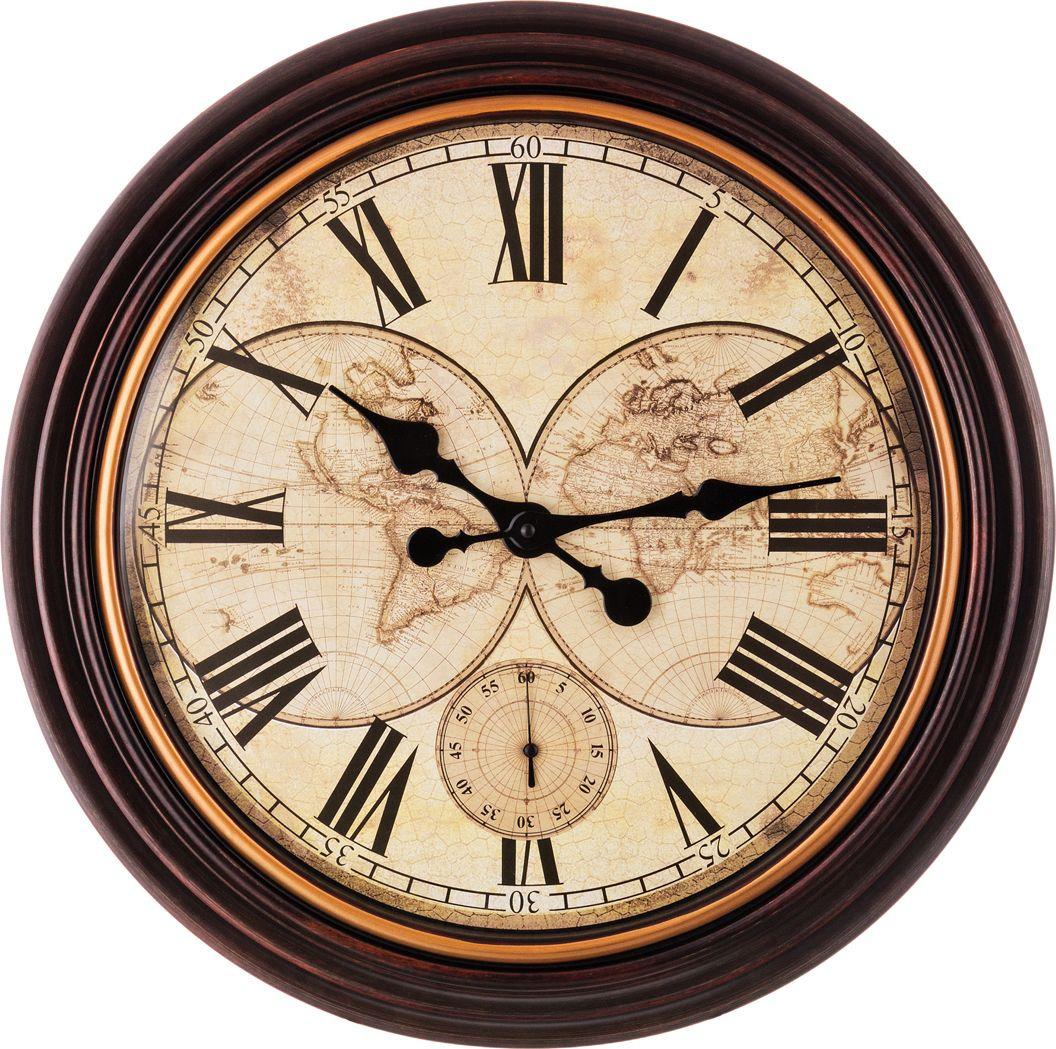 Настенные часы Lefard Swiss Home