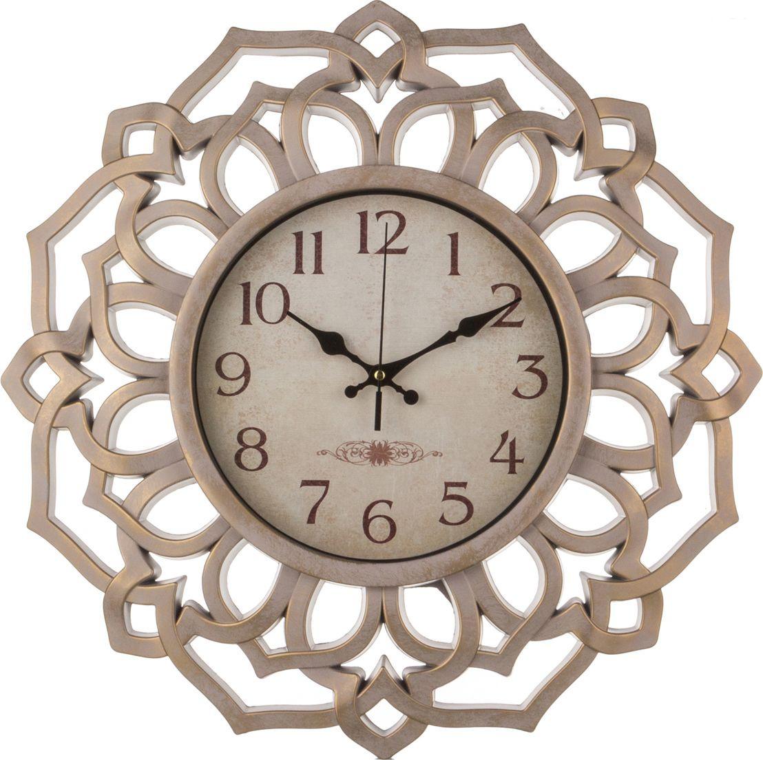 цена Настенные часы Lefard Italian Style, 220-180, 46 х 46 х 4,5 см онлайн в 2017 году