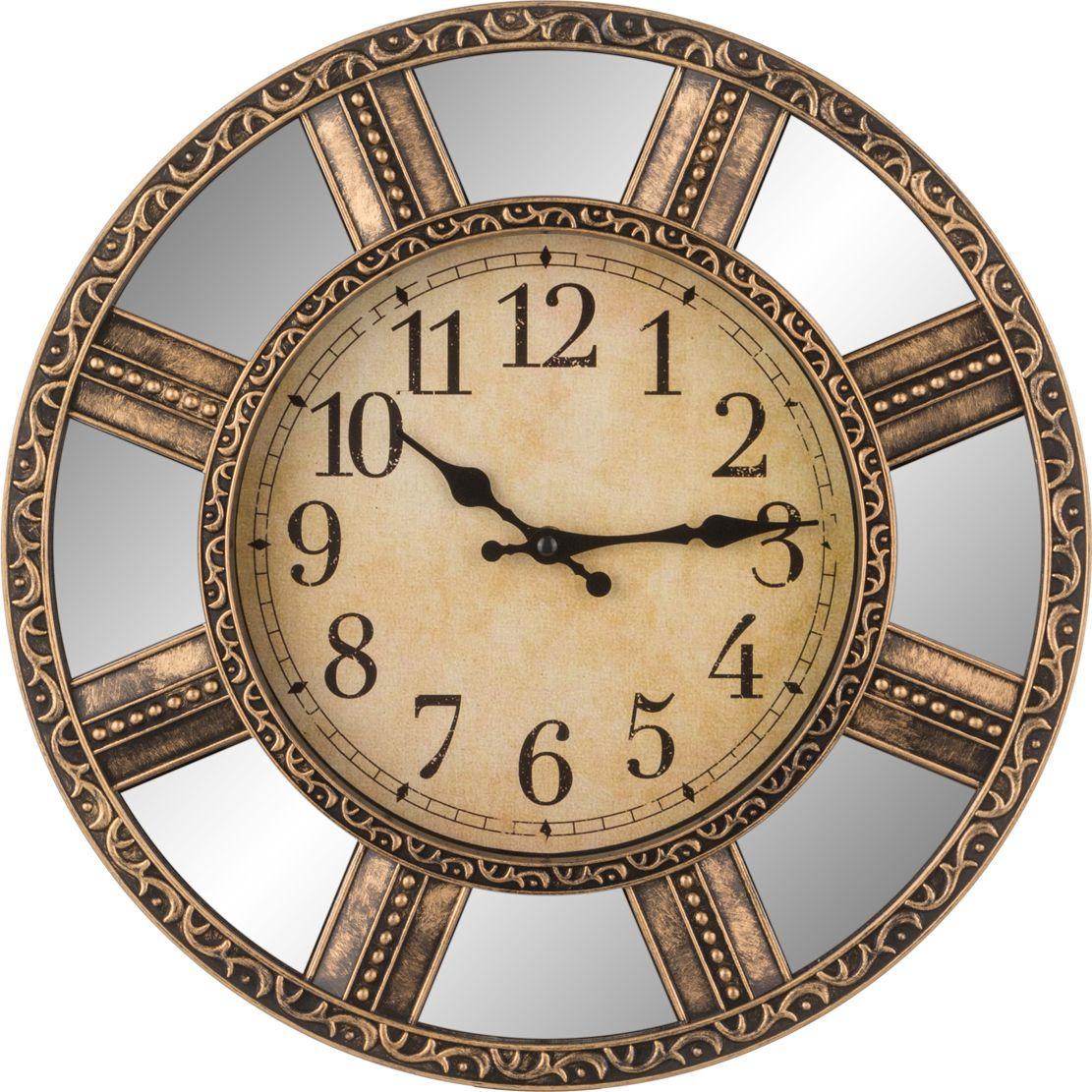 цена Настенные часы Lefard Swiss Home, 220-184, 38 х 38 х 4,8 см онлайн в 2017 году
