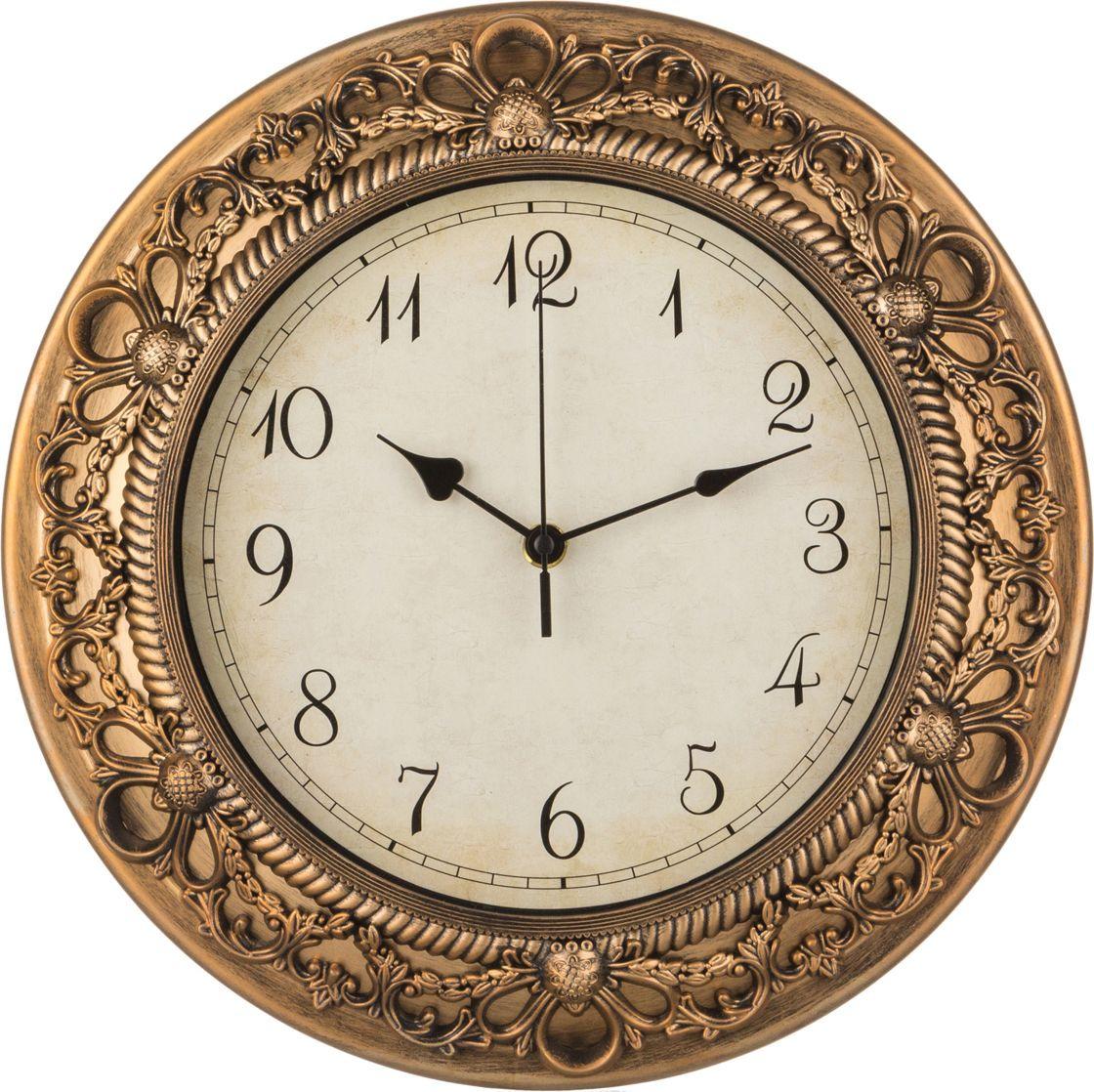 цена Настенные часы Lefard Royal House, 220-185, 33,2 х 33,2 х 4,2 см онлайн в 2017 году
