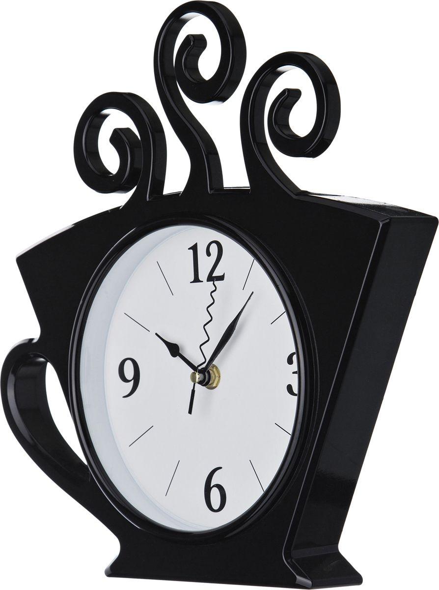лучшая цена Настенные часы Lefard Chef Kitchen, 220-245, черный, 26 х 30 см
