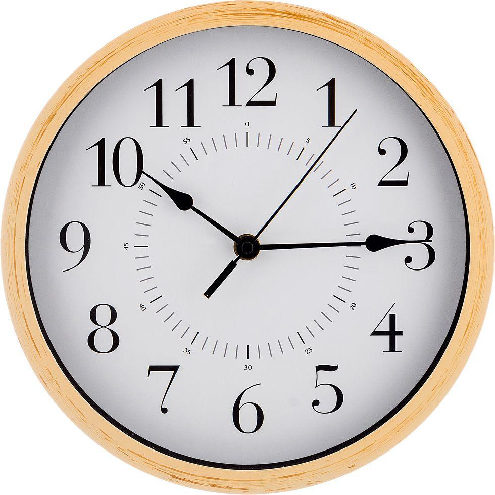 Настенные часы Lefard Lovely Home, 220-349, слоновая кость, 25,4 х 25,4 х 4,2 см