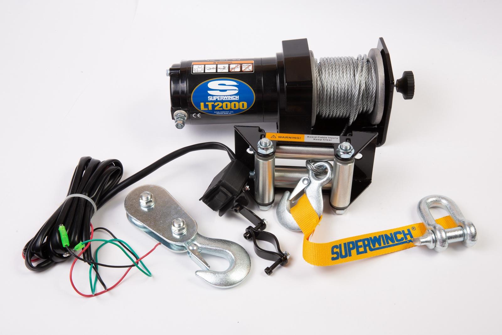 Автомобильная лебедка Superwinch LT2000, черный