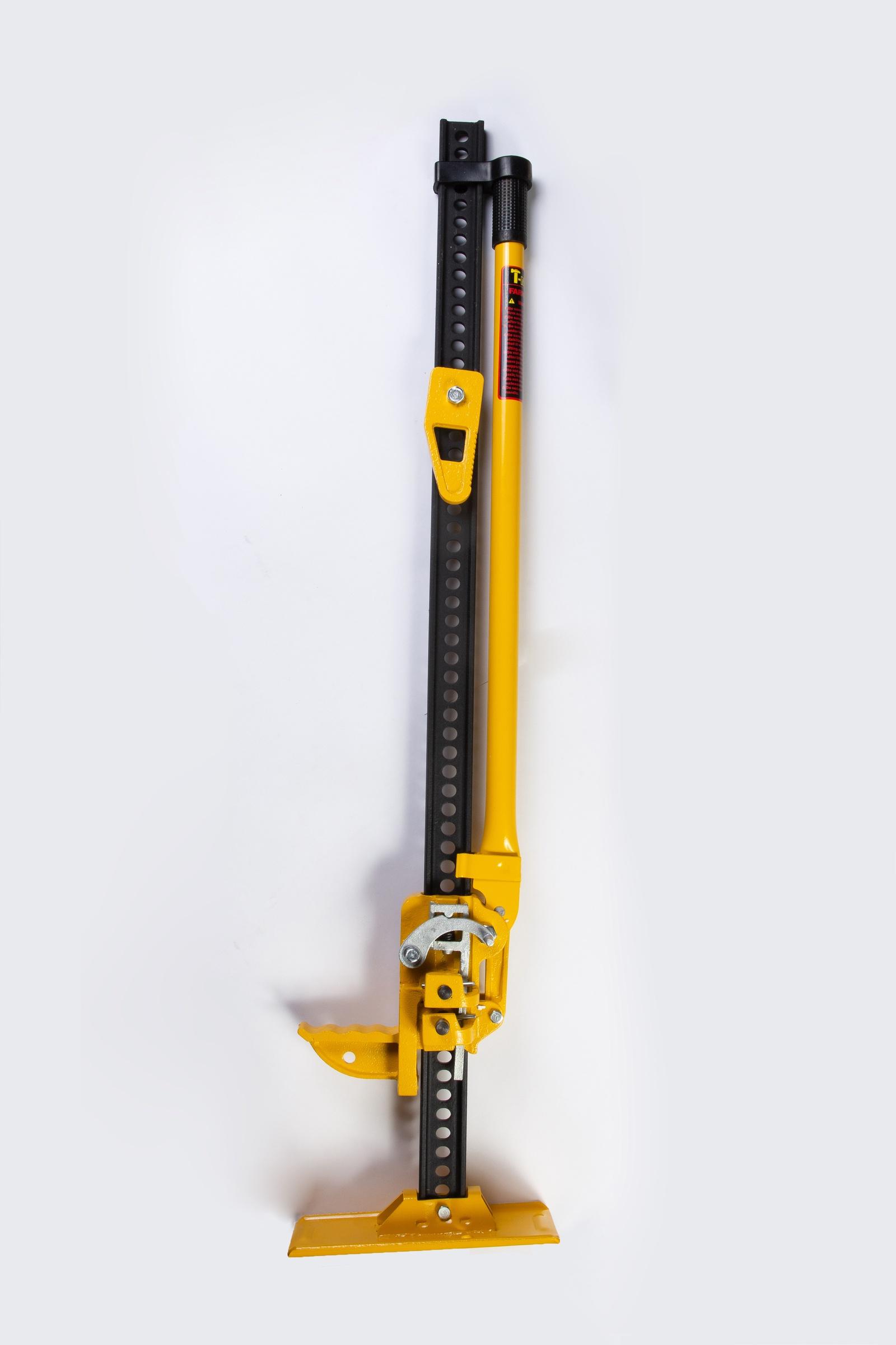 Реечный домкрат T-Max Домкрат реечный 120 см, желтый цена