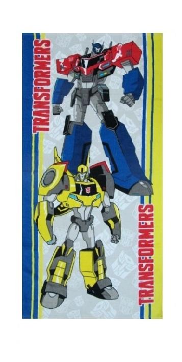 Полотенце детское Transformers 1088_11, серый