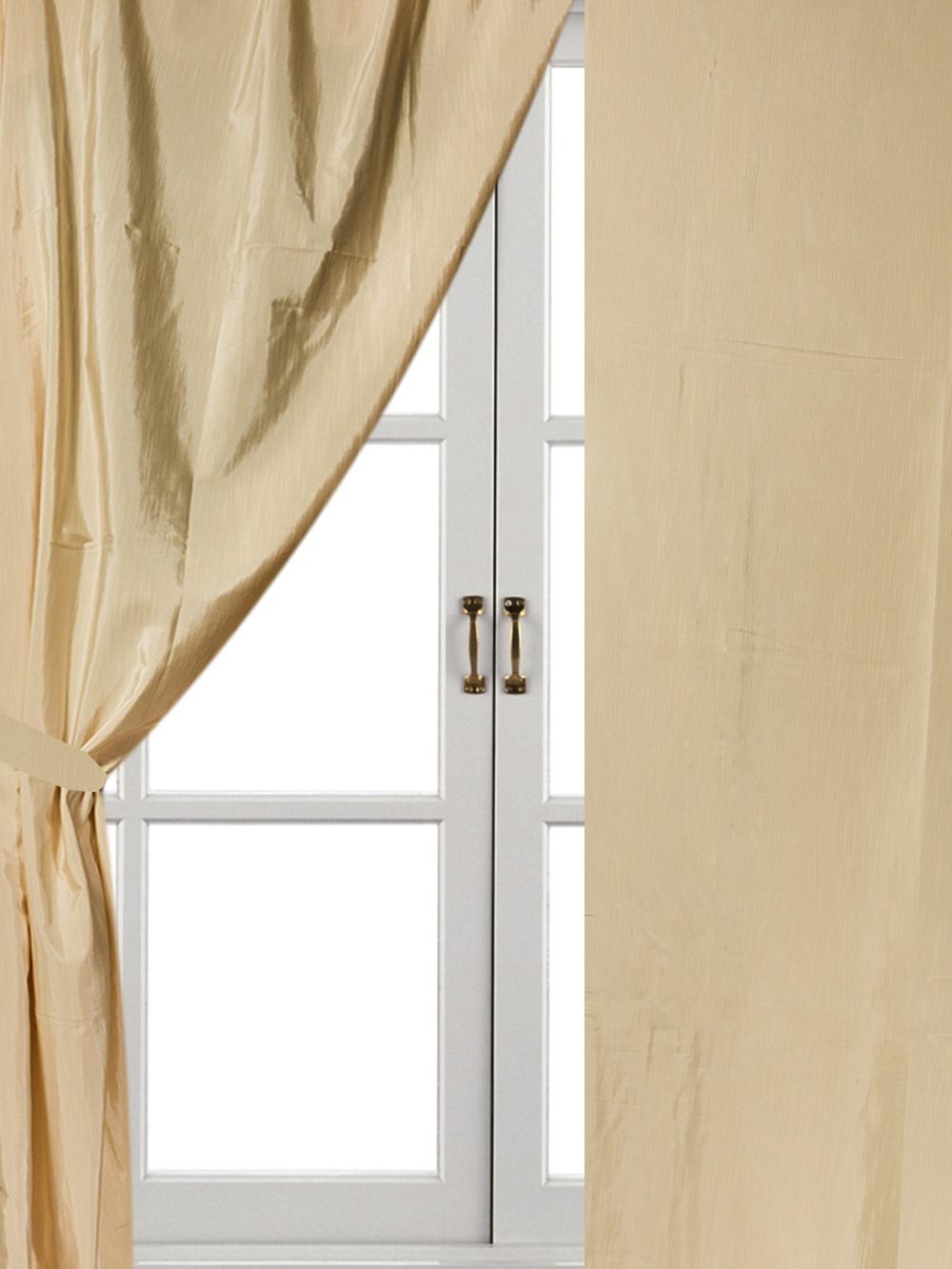 Комплект штор Айлант А25, бежевый шторы для комнаты tomdom комплект штор тризи бежевый