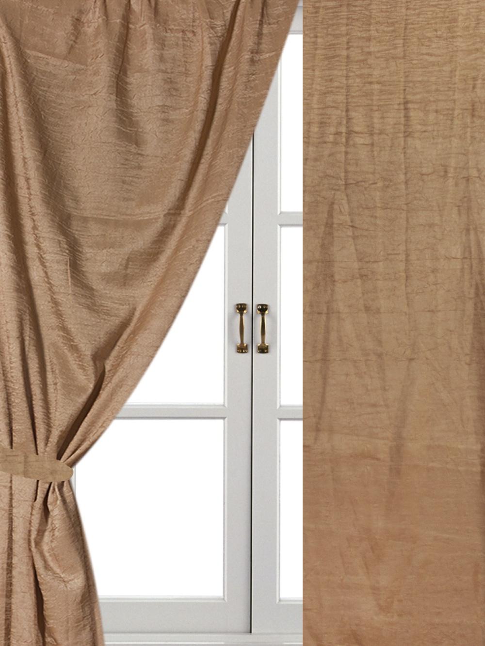 Комплект штор Айлант А34, бежевый шторы для комнаты tomdom комплект штор тризи бежевый